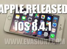 iOS 8.4.1 release
