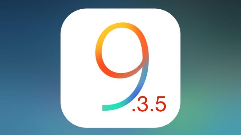 Jailbreak iOS 9.3.5