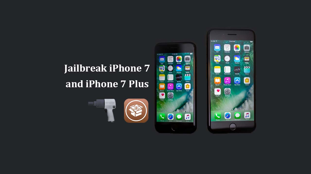 jailbreak iPhone 7