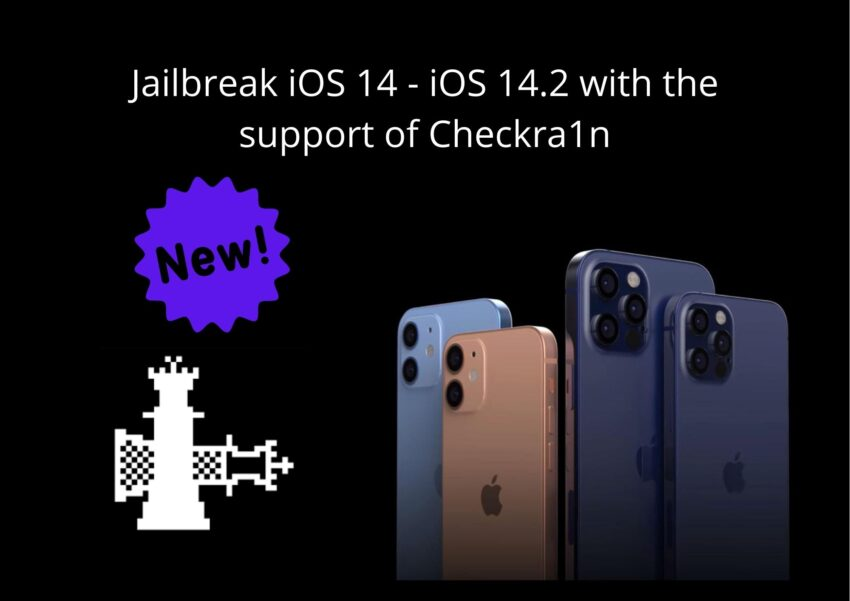 Jailbreak iOS 14 - iOS 14.2 with the support of Checkra1n