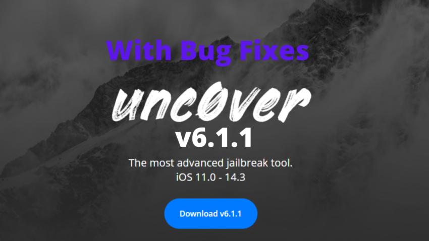 Unc0ver 6.1.1