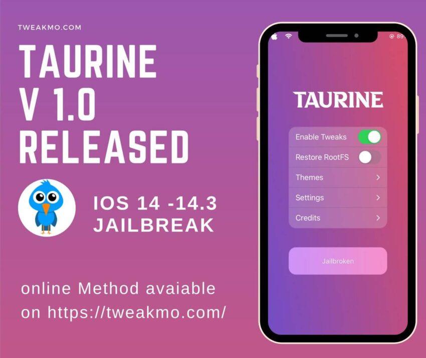 Odyssey jailbreak iOS 13 updated version 1.3.3