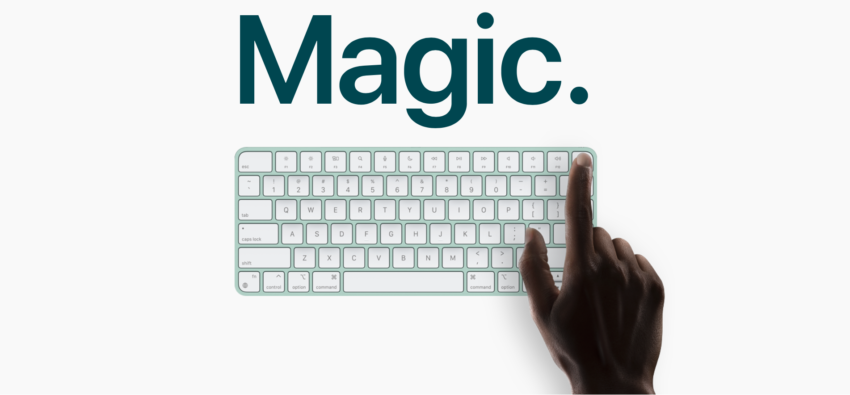 new magic keyboard