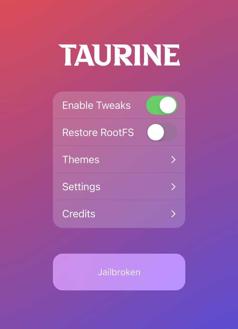 Taurine Jailbreak