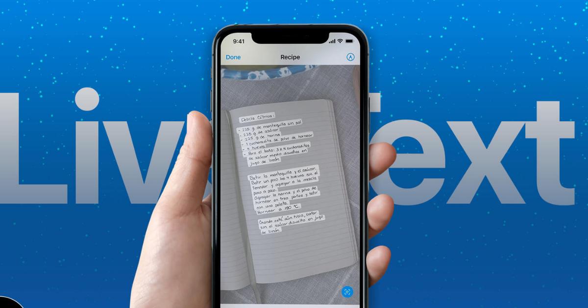 iPhone Live Text OCR- iOS15