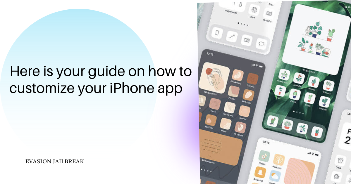 Changing the iPhone app icon