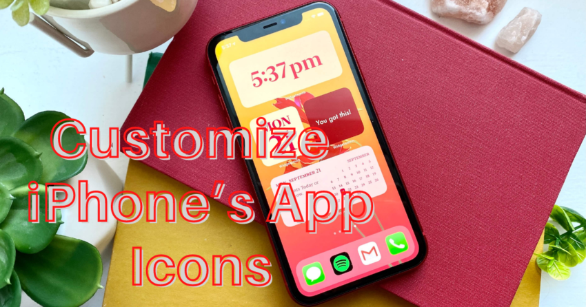 customize your iPhone's app icons